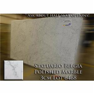 Statuario Belgia Marble Simple Kitchen Countertop Solid Vanity Top