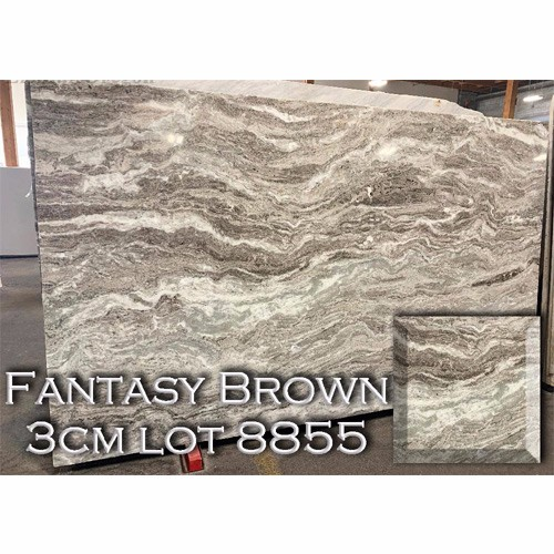 Fantasy Brown Marble Durable Kitchen Countertop Vanity Top