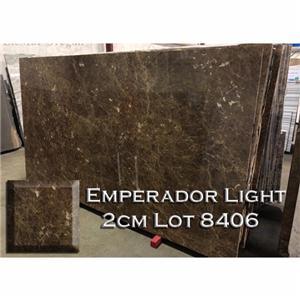 Emperador Light Marble Нейтральна Кухня Прилавок Ванна Вгору