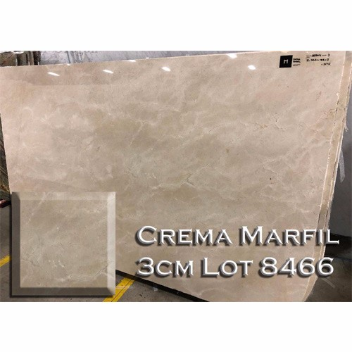 Crema Marfil Marble Neutral Kitchen Top Bathroom Vanity Countertop