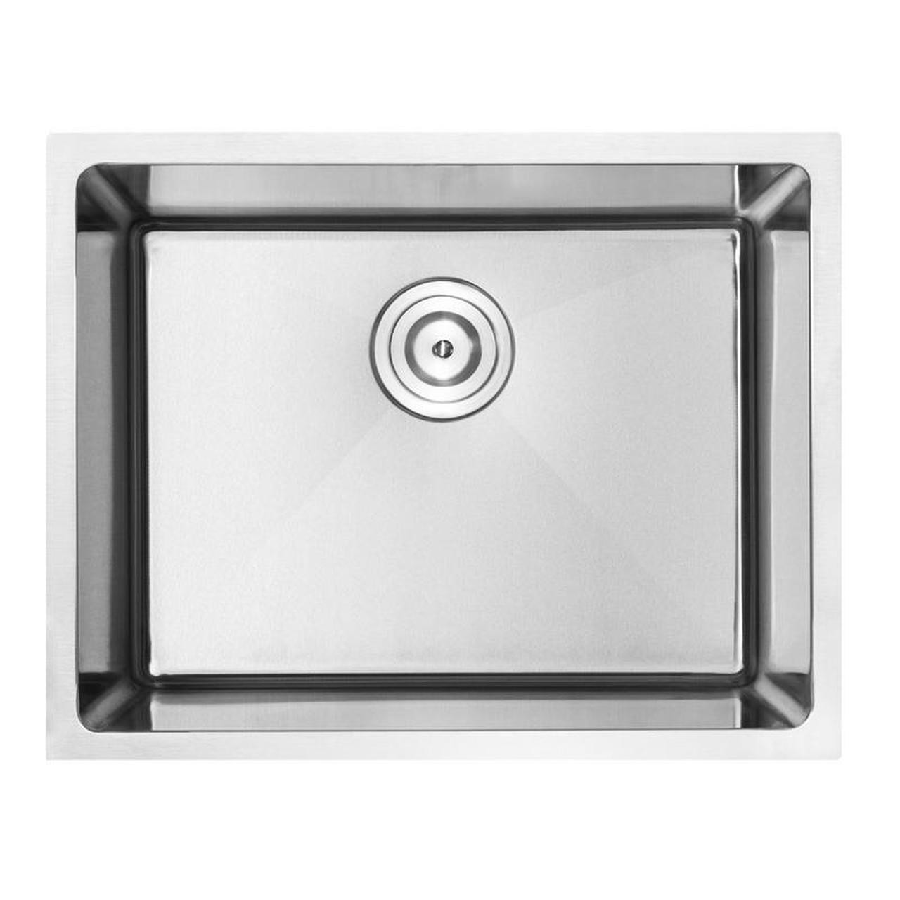 18-Gauge Stainless Steel Undermount Single Basin Modern Kitchen Sink
