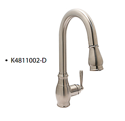 Single Handle Pull-down Sprayer Classic Kitchen Faucet