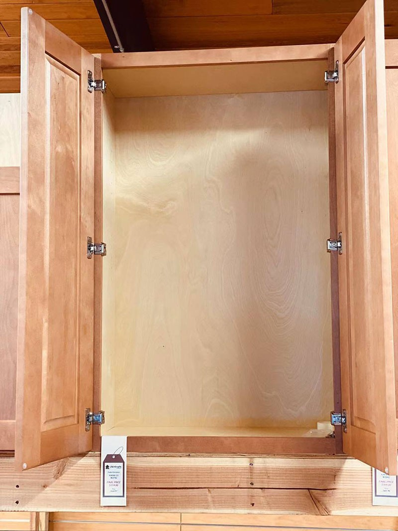 Almond Wall Cabinet W2742 UP TO 75% OFF
