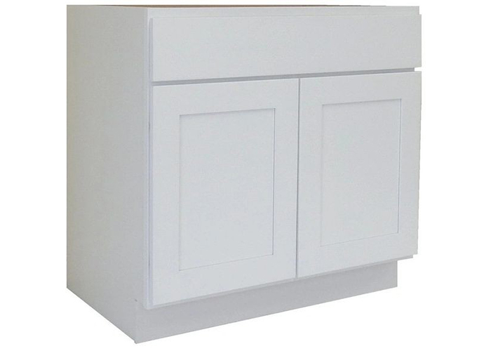 alpine white cabinet