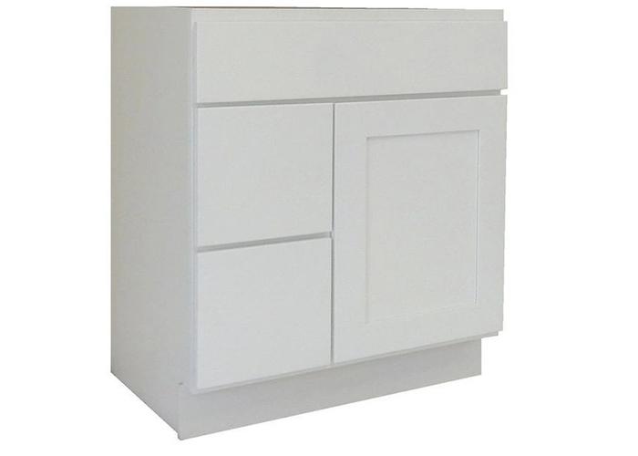modest vanity cabinet