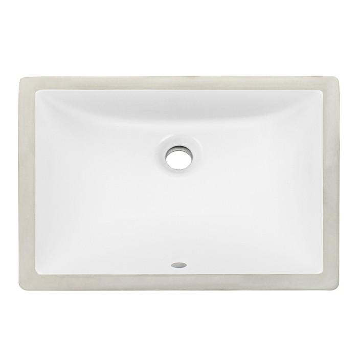 Rectangular Vessel Sink Durable Premium Modern Vanity Sink