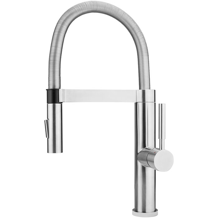 magnetic-docking faucet