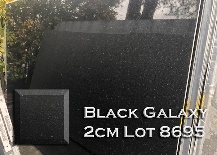 black galaxy granite countertop