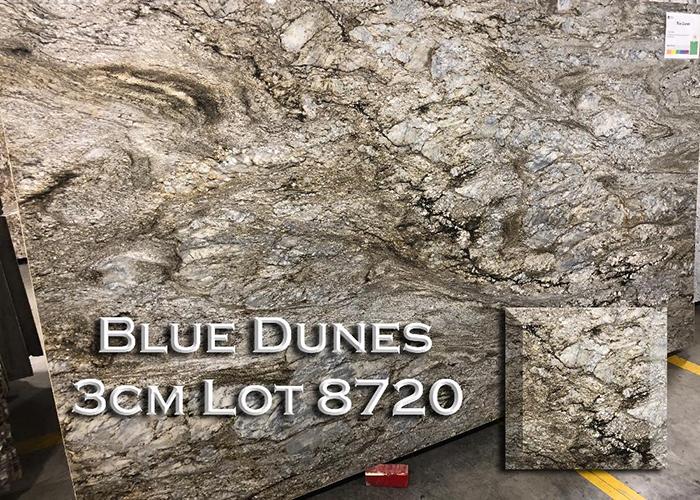 blue dunes granite countertop
