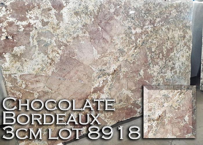 chocolate bordeaux granite countertop