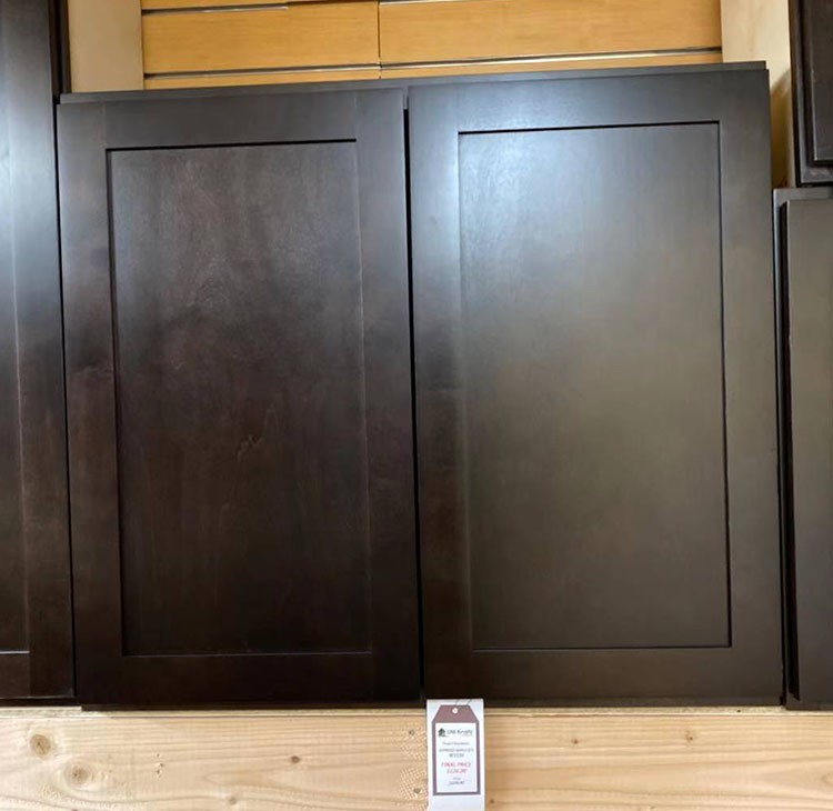 Expresso Maple Wall Cabinet W3330 UP TO 75% OFF