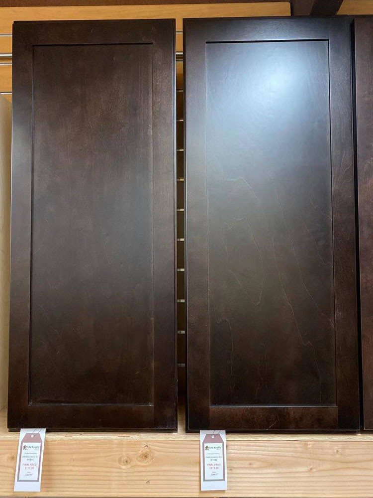 Expresso Maple Wall Cabinet W1842 UP TO 75% OFF