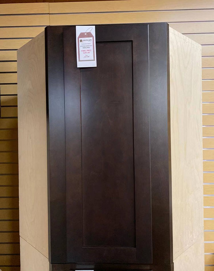 Expresso Maple Wall Cabinet WDC2436 UP TO 75% OFF