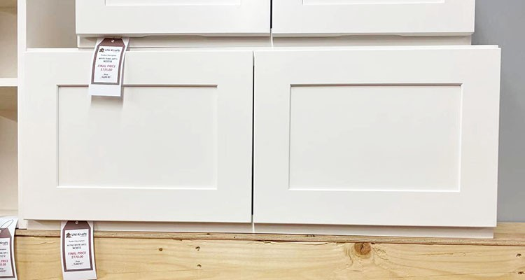 Alpine White Dinding Kabinet W3615 UP TO 75% OFF