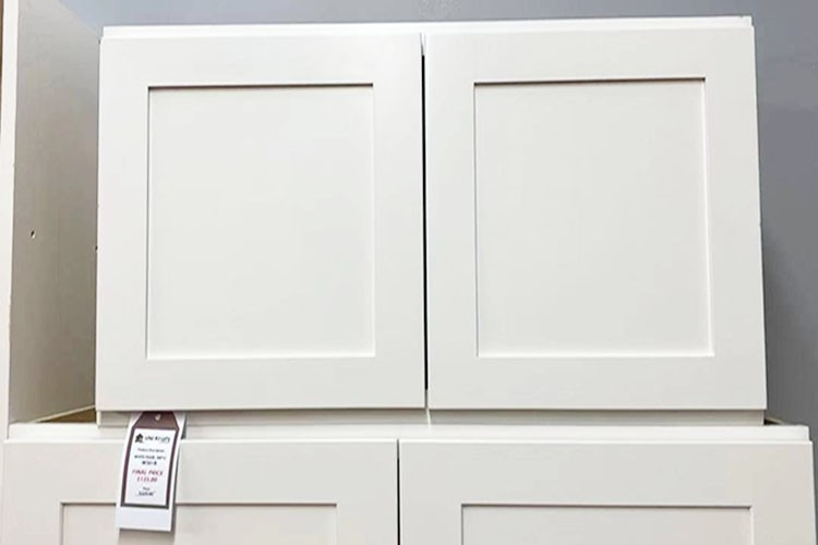 White Pearl Wall Cabinet W3018 UP TO 75% OFF