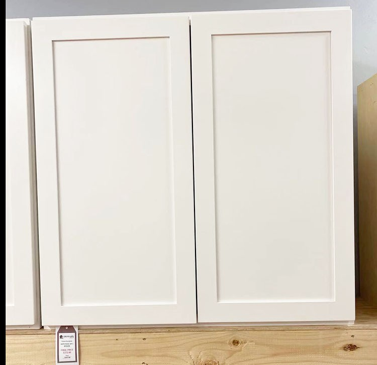 White Pearl Wall Cabinet W3636 UP TO 75% OFF
