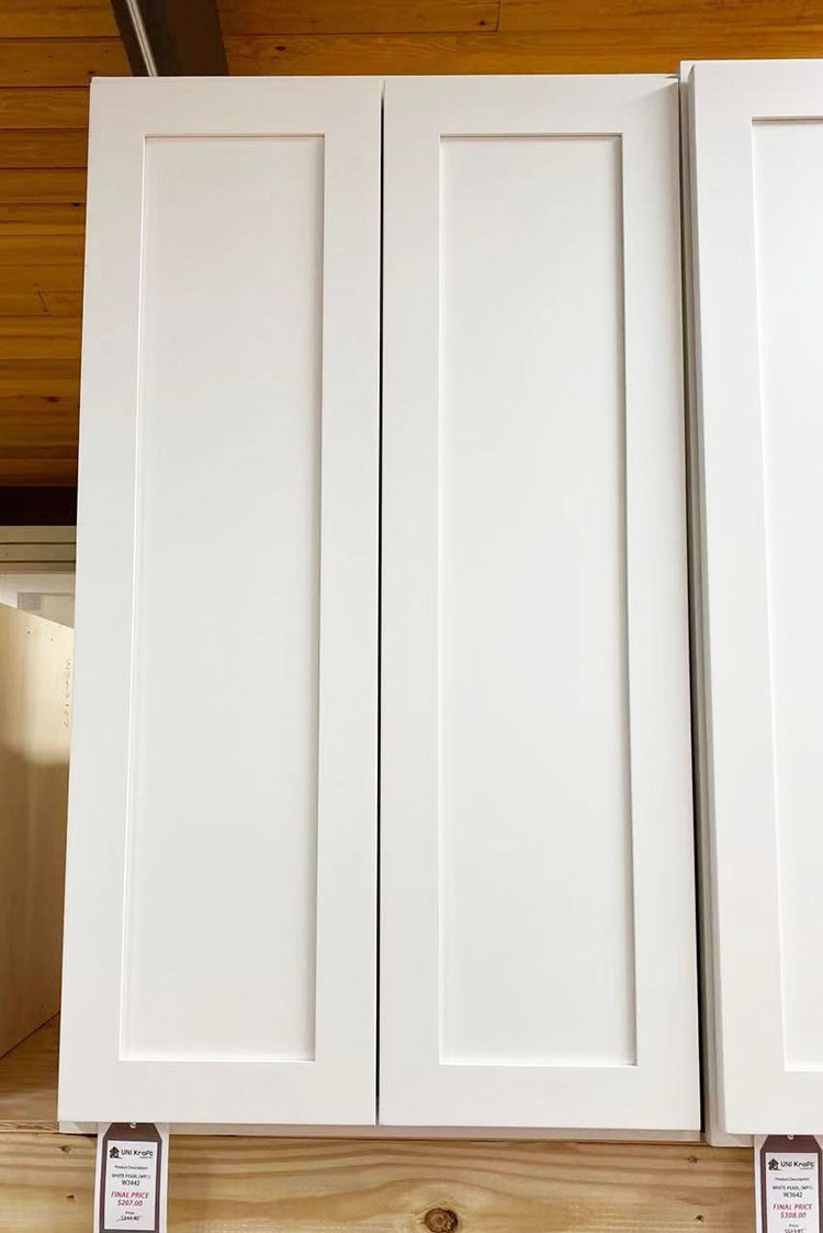 White Pearl Wall Cabinet W2442 UP TO 75% OFF