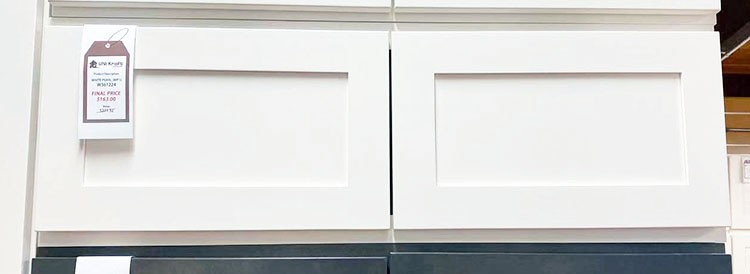 White Pearl Wall Cabinet W361224 UP TO 75% OFF