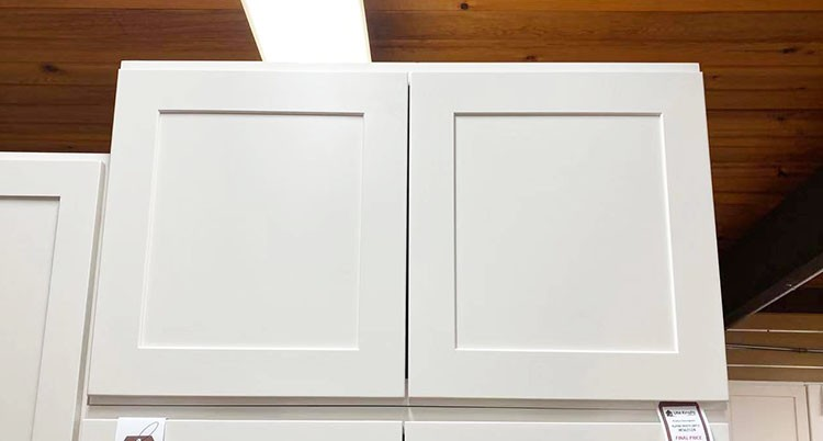 White Pearl Wall Cabinet W362124 UP TO 75% OFF