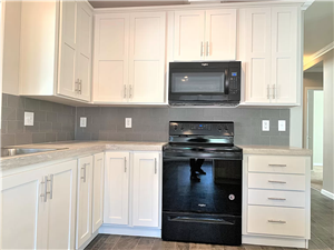White Pearl Cabinets