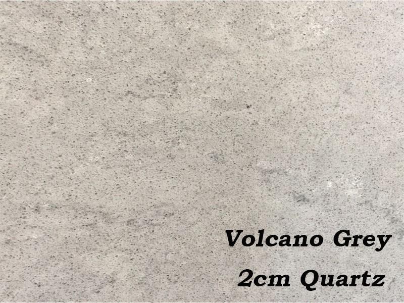 2cm Quartz Volcano Grey