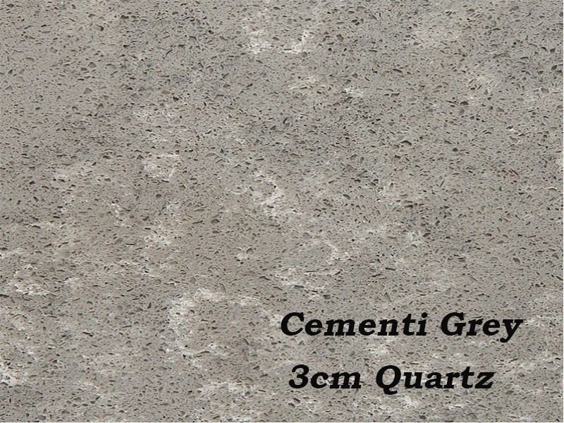 3cm Quartz Cementi Grey