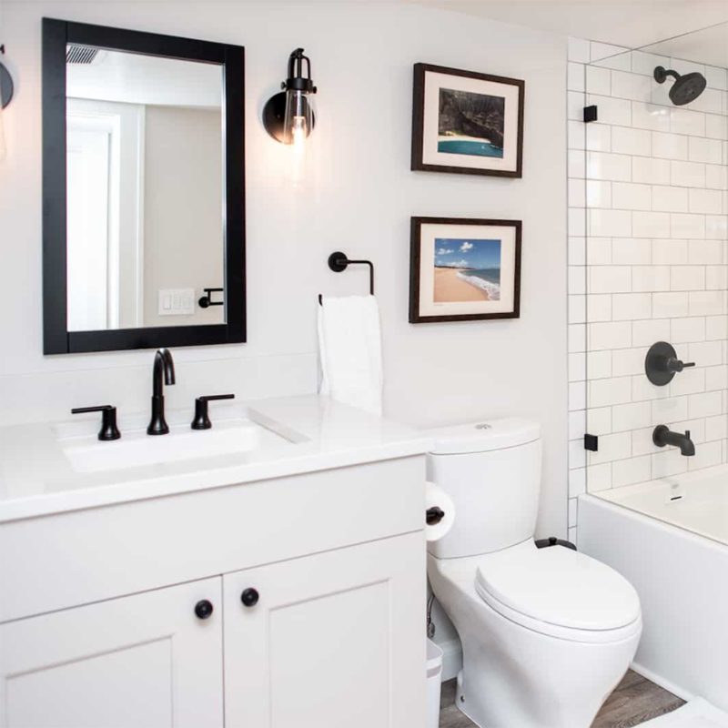 Bathroom Vanity Configuration