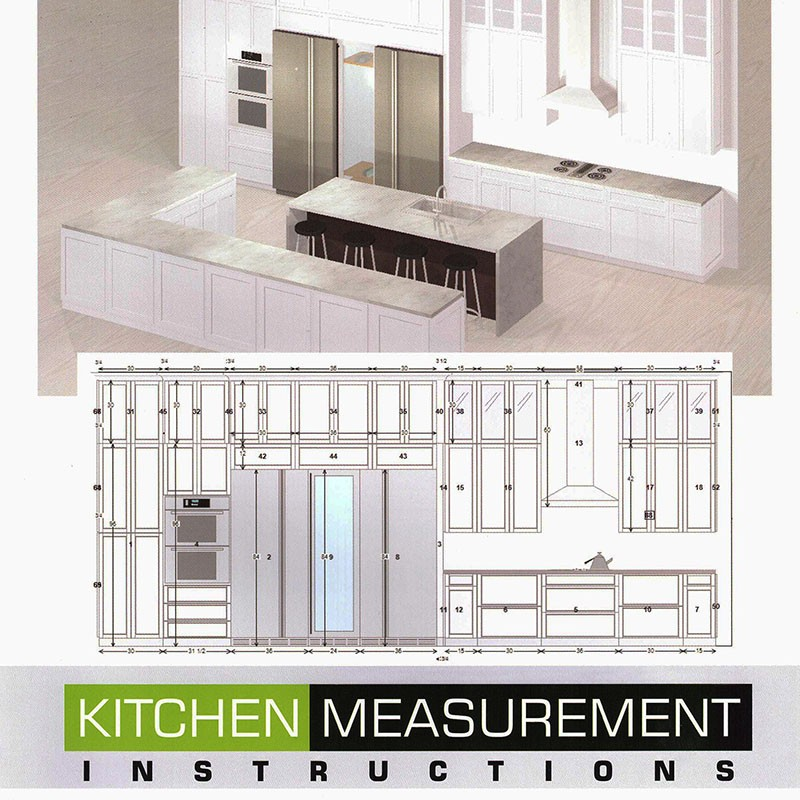 Kitchen Measurement Instruction