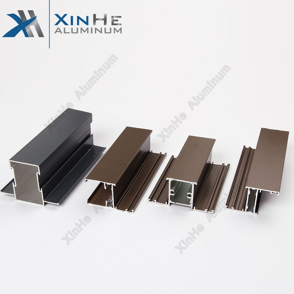 window and door frames aluminum profile