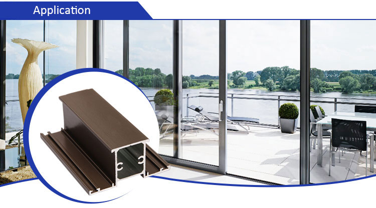 aluminum alloy window door frame profile