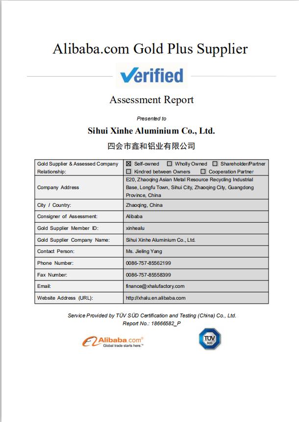 Alibaba.com Gold Plus Supplier Verification
