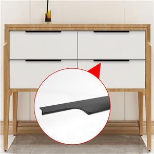 Furniture Drawer Kitchen Door Handle Cabinet Pulls Hardware Kitchen Cabinet Door Hidden Cabinet Drawer Pull