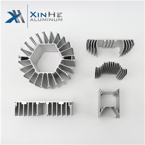 Customized Aluminium Heat Sink Extrusion Profile Manufacturers Price