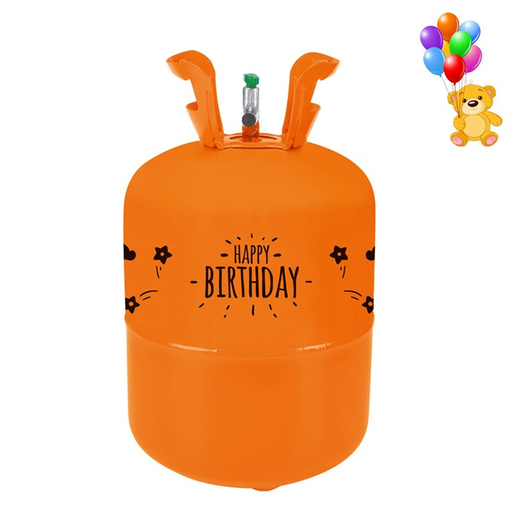 Disposable Steel Helium Gas Tank