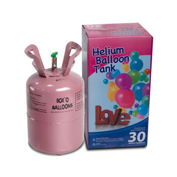 Empty Balloon Helium Gas Cylinder
