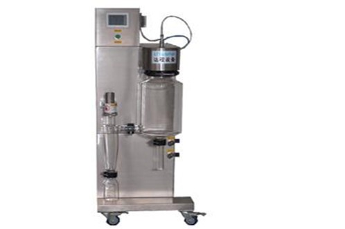 Closed cycle spray dryer atomization process and bulk density control method