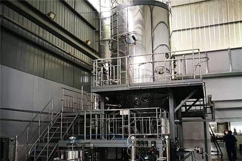 Phenomenon and solution of sticking wall of centrifugal spray dryer