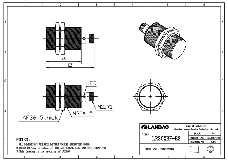 Supply M30 Inductive Sensor Sale Quotes
