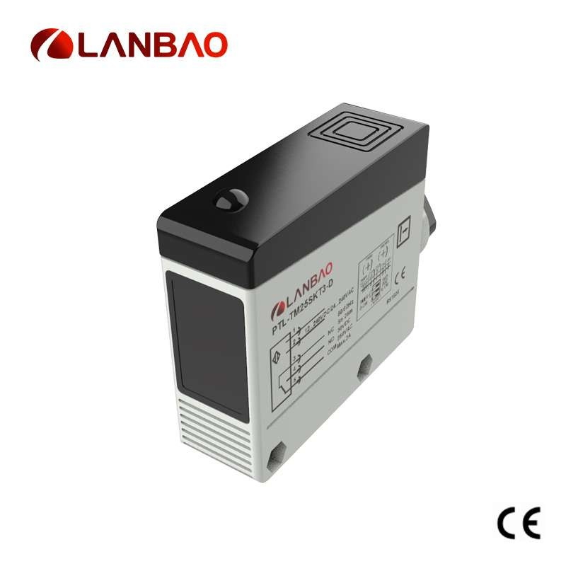 Terminal connection IP67 diffuse photoelectric sensors