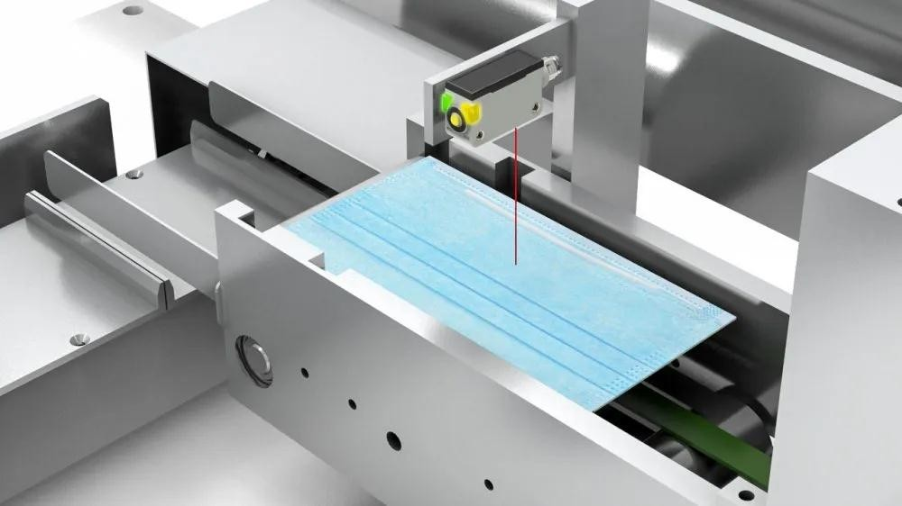 Application of Lanbao Sensor in Mask Automatic Production Line