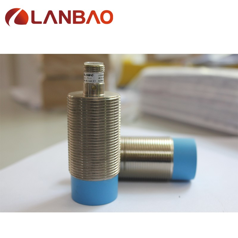 M30 cylindrical inductive position sensor npn no detection distance 15mm