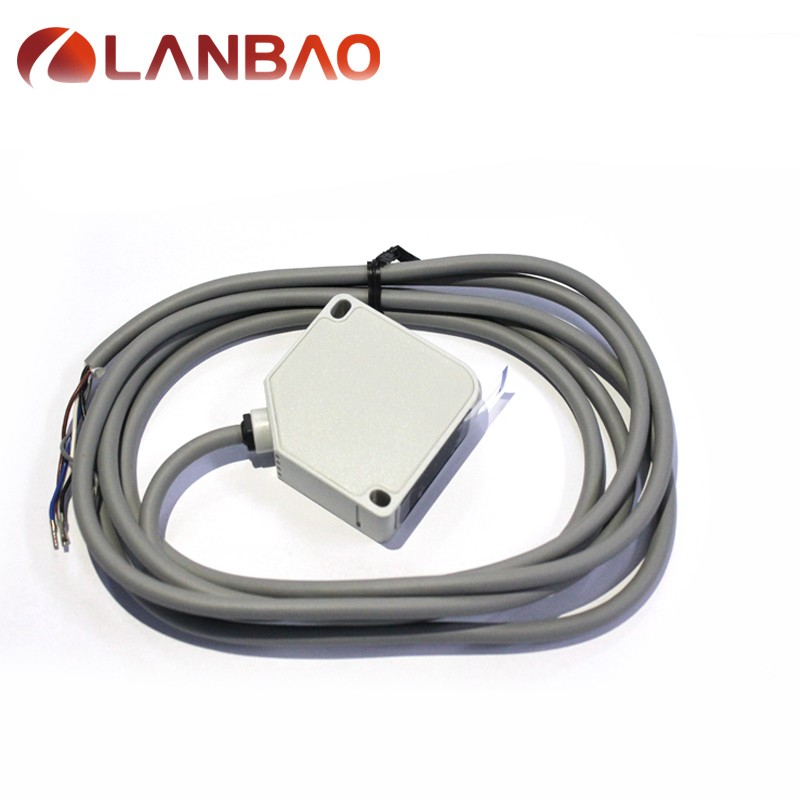 PTE series through beam reflection photoelectric detection sensor 60m switch sensor