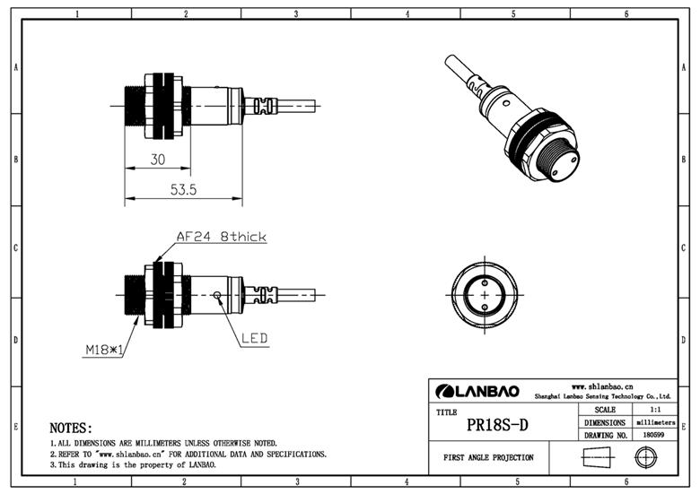 plastic photoelectric sensor