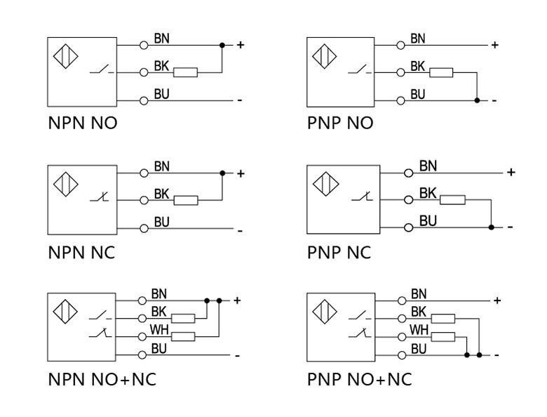 plastic photoelectric position sensor