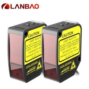 plastic laser distance mearsuring sensor 24VDC