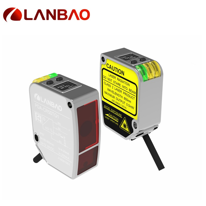 100mm metal laser measuring sensor
