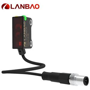 Lanbao Photoelectric Industrial Sensors Pnp Nc M8 Connector Ip67