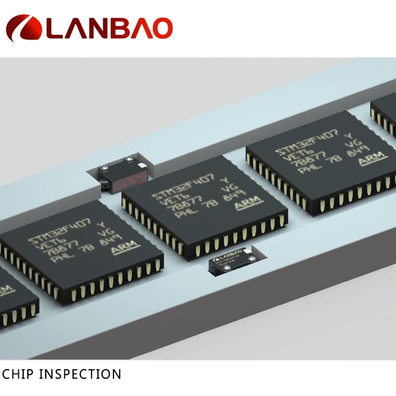 Lanbao Photoelectric Industrial Sensors Pnp Nc M8 Connector Ip67