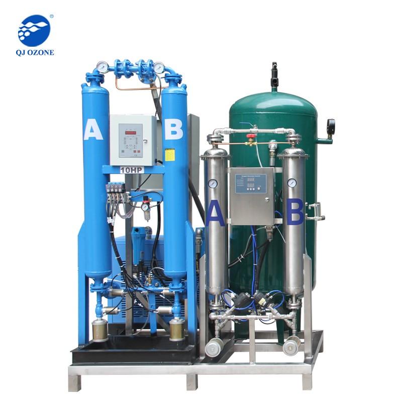 Aquaculture oxygen generator