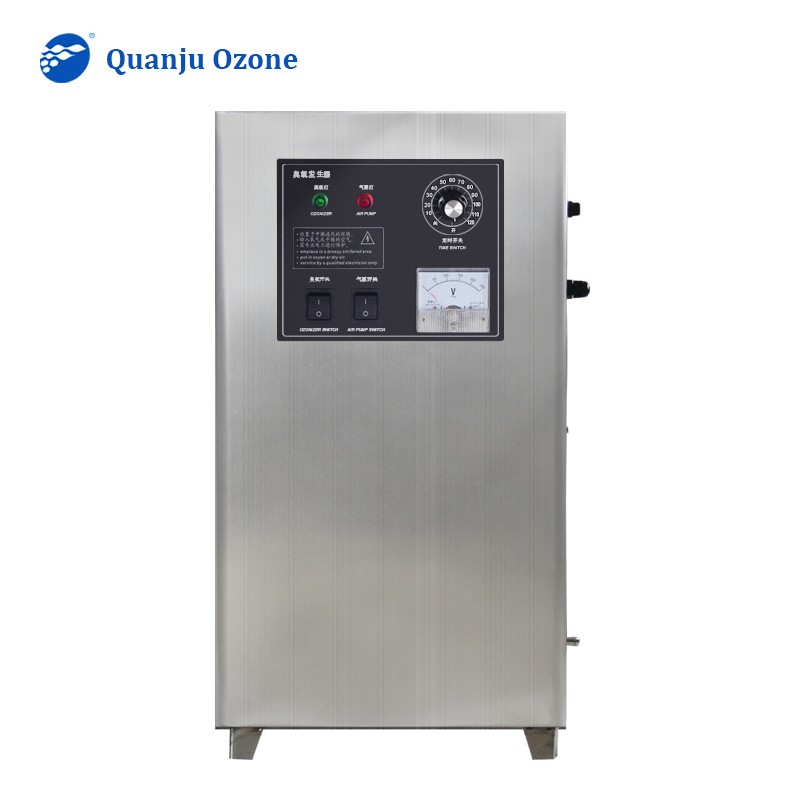 Ozone Generator with Air Feeding